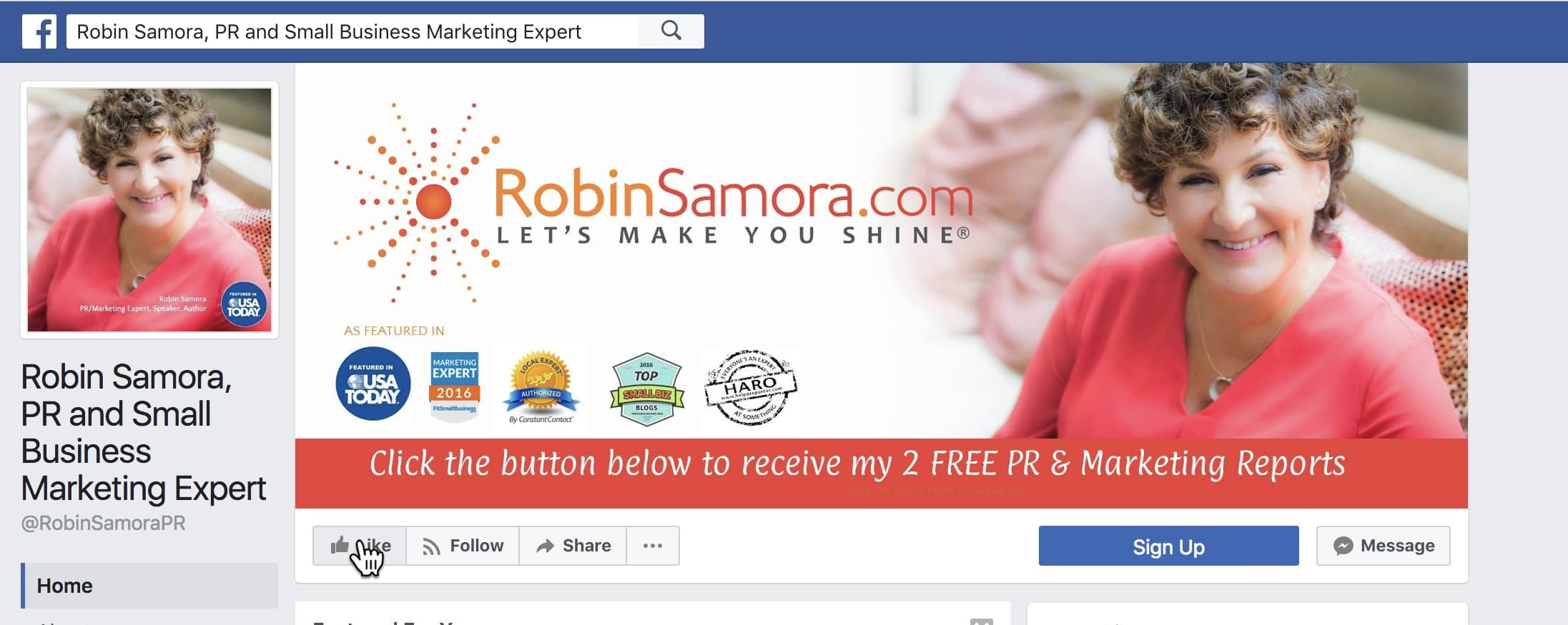 15 Ways to Get More Facebook Likes [For Your Business Page] | Robin