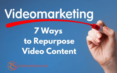 7 Easy Ways to Repurpose Video