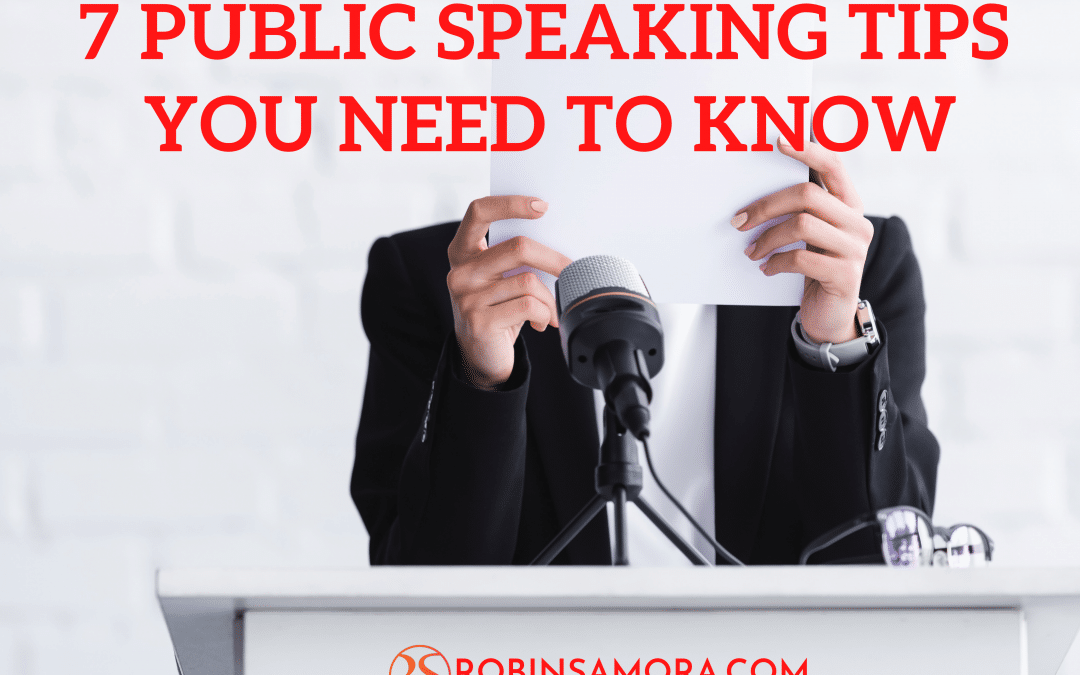 7 Public Speaking Tips Every Marketer Should Know